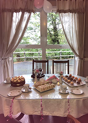 Afternoon Tea Party Beechwood House